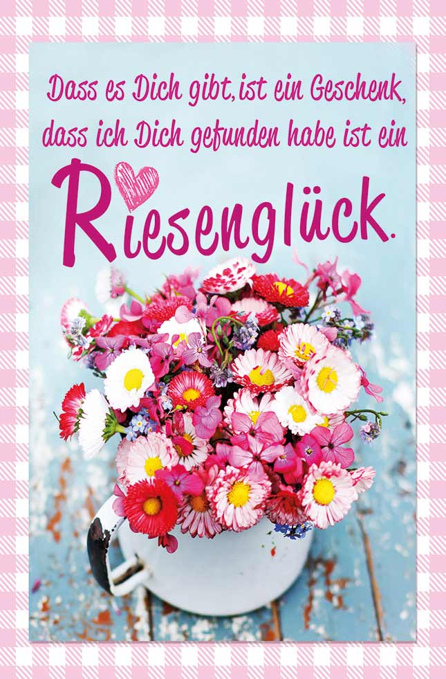 Liebe Grüße Grußkarten - LUMA Kartenedition - Schöne